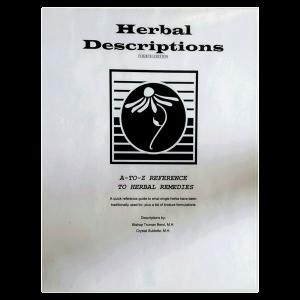 Herbal Descriptions - Herbal Health Review